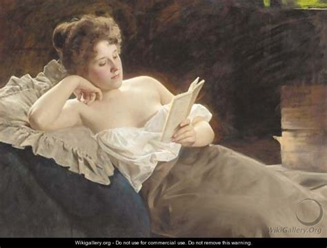 woman reclining a reclining woman reading albert ritzberger