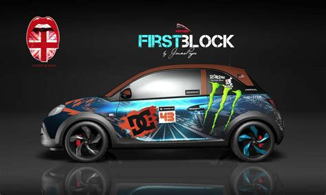 Autoaufkleber Opel Adam by Exklusives Car Design By Empire Couture D 252 Sseldorf Panther