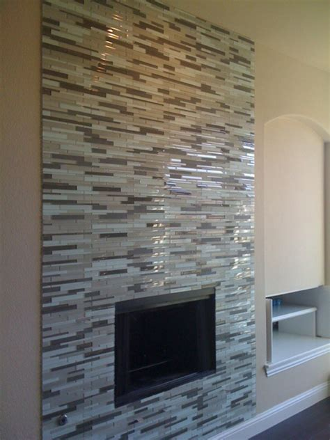 mosaic tile fireplace on mosaic fireplace