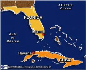 Map Of Florida And Cuba map florida cuba