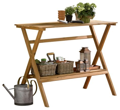 simple potting bench simple potting bench transitional potting benches by