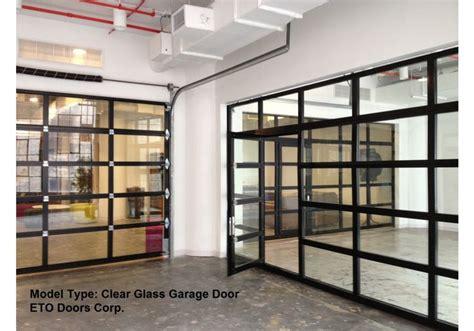 Roll Up Glass Garage Doors Aluminum View Glass Garage Doors On Restaurant View Aluminum Clear Glass Garage