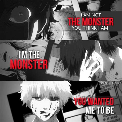 the just for or others monsters anime quot i m not the you think i am i m the you
