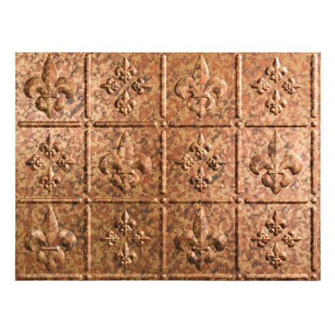 home depot decorative tile fasade 24 in x 18 in terrain pvc decorative tile