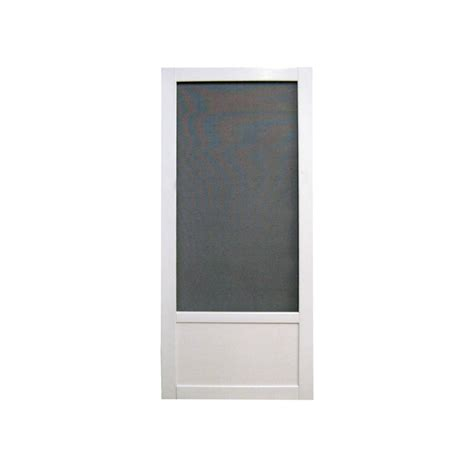 screen doors shop screen tight vinyl screen door common 34 in x 77 75