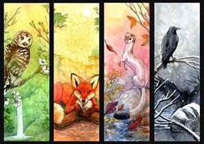 The Four Seasons Four Seasons By Hibbary On Deviantart