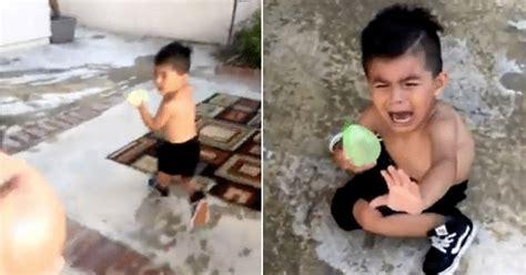 meme generator chasing kid  water balloon newfa stuff