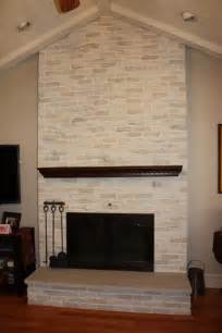 brick fireplace makeover classic fauxs finishes