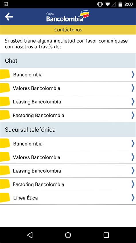 cuenta de ahorros bancolombia youtube bancolombia app personas android apps on google play