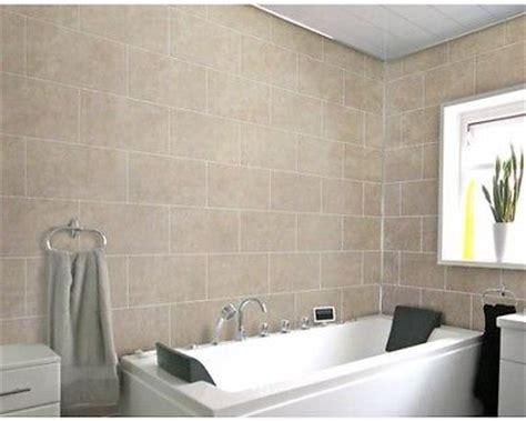 Bathroom Wall Panels Tile Effect Shower Panels Shower Enclosures Bath Home Furniture Diy