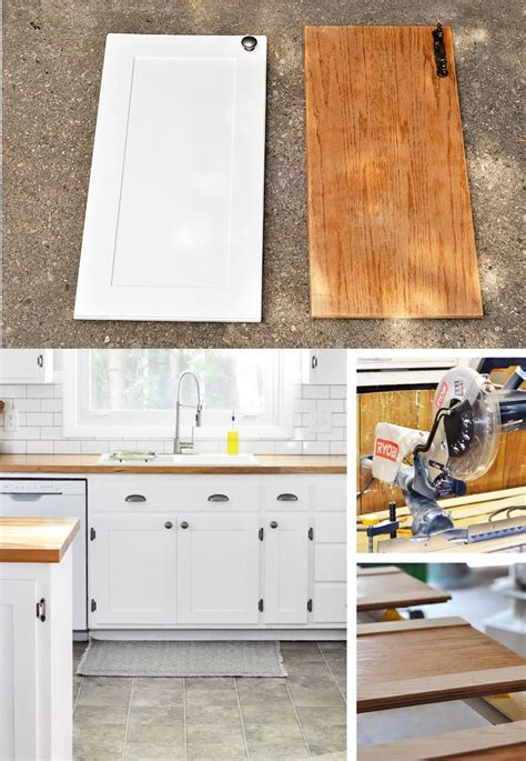 flat kitchen doors makeover kitchen hack diy shaker style cabinets shaker style