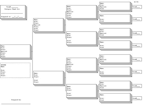free pedigree chart template family tree chart template screenshoot excellent 8 best