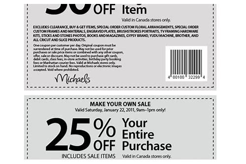 michaels coupon canada august 2018