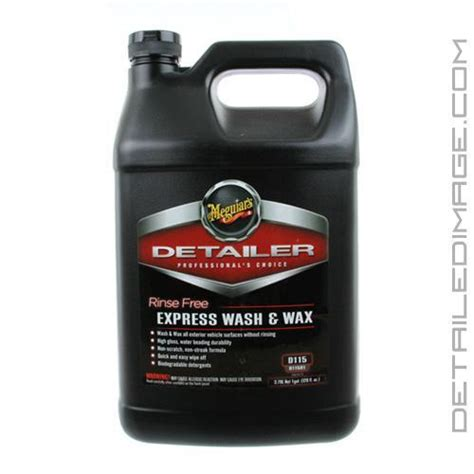 Express Wax meguiar s rinse free express wash wax d115 128 oz free shipping available detailed image