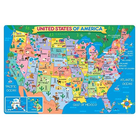 electronic us map puzzle us map 24 pc floor puzzle educational toys planet