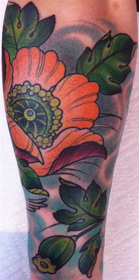 jenny s poppy tattoos by annie frenzel