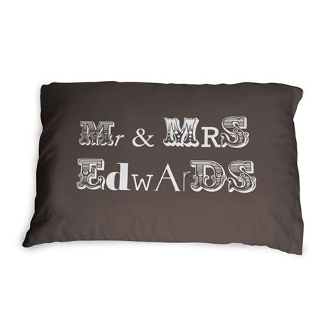 Mr Mrs Pillow Cases by Mr And Mrs Pillowcases You Customize Mr And Mrs Gifts