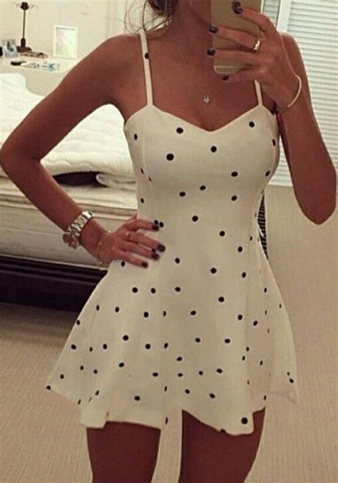 summer dressing style for thin women in printrest 50 summer outfits worth copying 201 t 233 vive les pois et appli