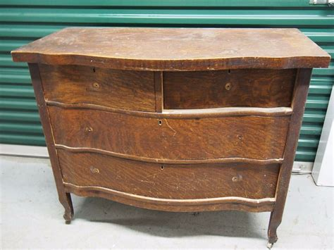Phone Stand 3 Drawer Antique Ag 51 antique wooden 4 drawer dresser needs work missing hardware 42 x21 x35