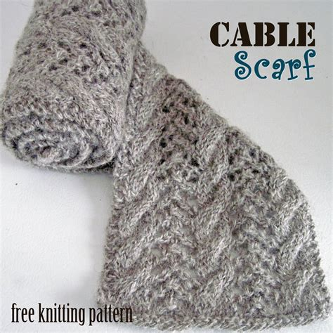 free knit scarf pattern cable scarf free knitting pattern c o w l s and s c a r