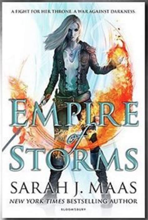 book cover revealed empire of storms book 5 in the