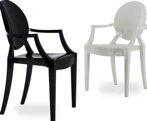 If Ghost Furniture Had A Shop by Kartell Louis Ghost Chair Grounded