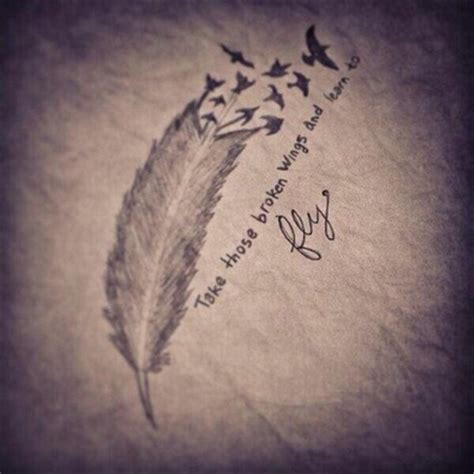 feather tattoo designs with quotes boho feather quotes quotesgram