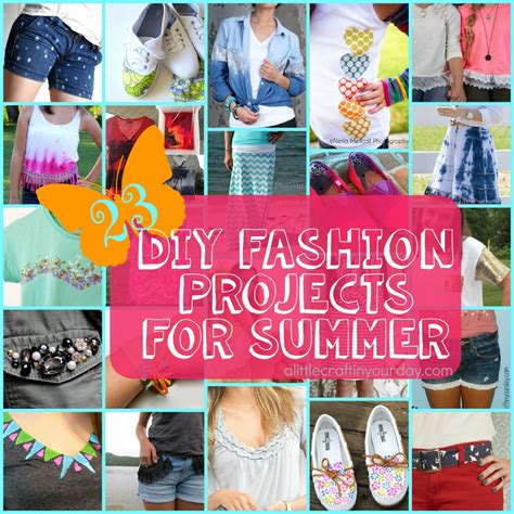 fashion crafts for 23 diy fashion projects for summer