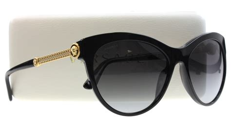 Versace Sunglasses new versace sunglasses cat eye ve 4292 black gb1 8g