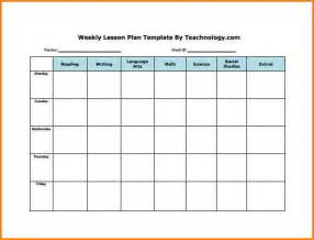 weekly lesson plan template word 8 weekly lesson plan template word writable calendar