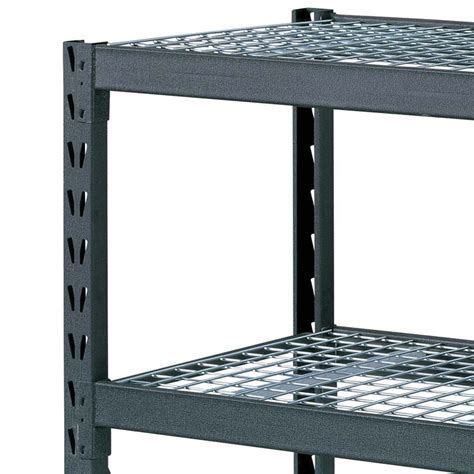 costco uk whalen 4 tier 77 quot 195cm industrial storage rack