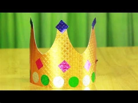 How To Make A Crown Out Of Paper For - how to make paper crown