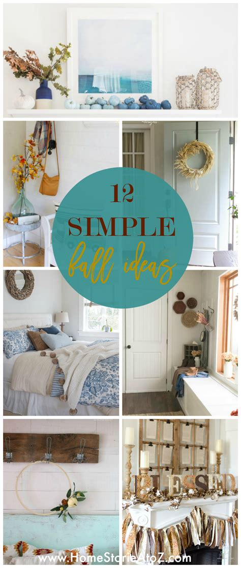 10 organizing ideas home stories a to z 12 simple fall decor ideas home stories a to z