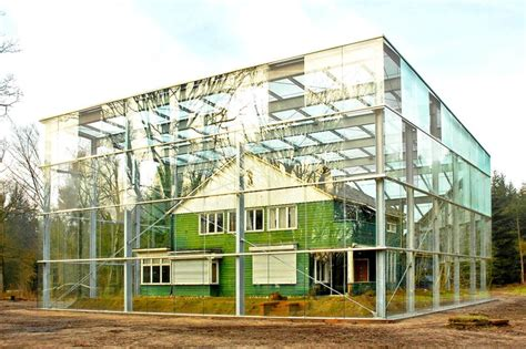 glass box architecture oving architecten envelopes former concentration c