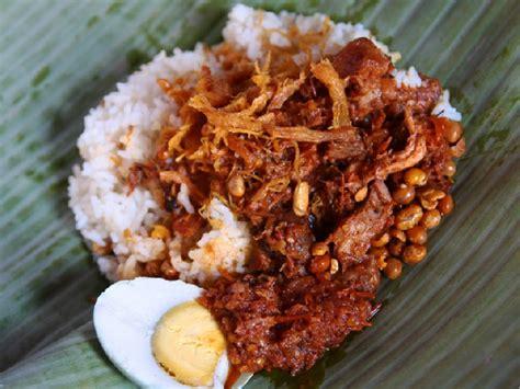 nasi balap puyung lombok resep masakan tradisional