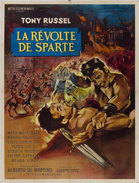 la rvolte des lites la revolte de sparte 1964 new movie releases on dvd gulfinternet