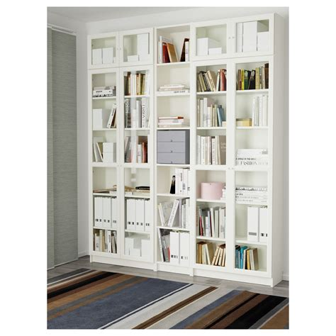 librerie billy ikea billy oxberg bookcase white 200x237x30 cm ikea