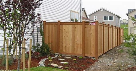 country fence styles seattle wood fence styles and photos town country