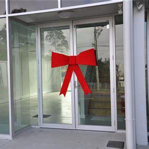door bows giant bows australian printed ribbon