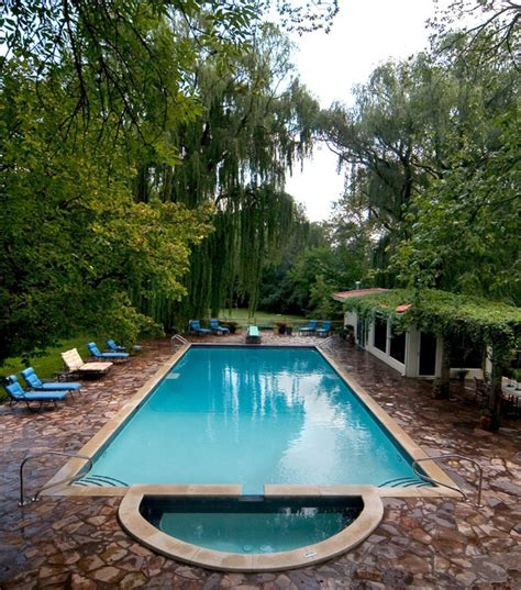 pools with spas glenview mediteranian pool and spa traditional pool