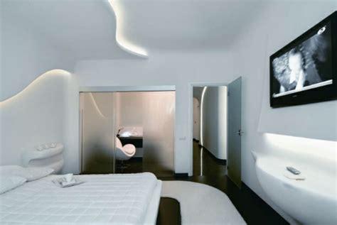 schlafzimmer zwischenwand futuristische schlafzimmer designs 26 originelle