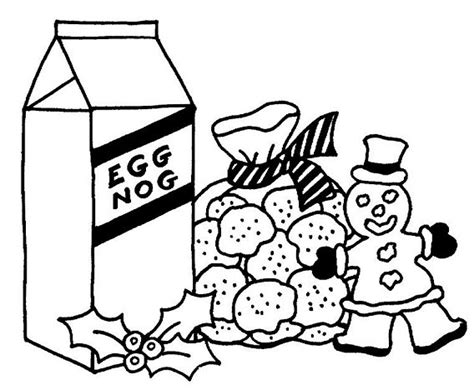 coloring page christmas cookies free coloring pages of cookies and milk