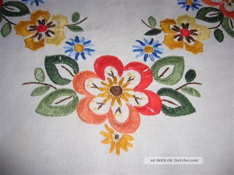 tischdecken handarbeit handarbeit tischdecke gestickt