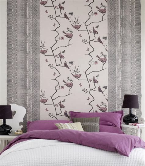 wallpapers for bedroom walls focusing on one wall in bedroom swedish idea of using