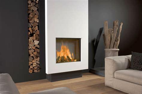 19 sleek modern white fireplace designs
