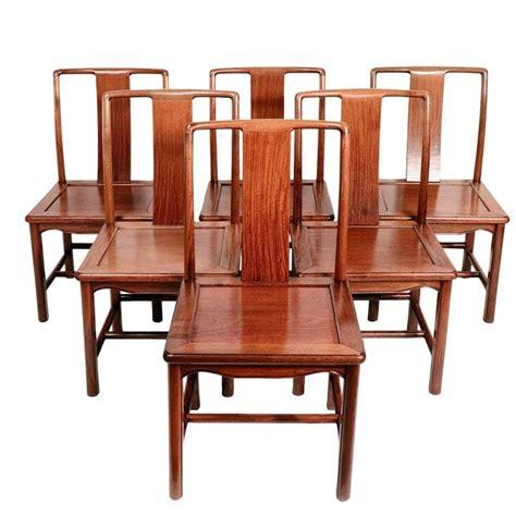 set   antique chinese mid century modern dining