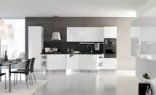 White Cabinet Kitchen Design Italian Kitchen Designs With White Cabinets Become Very