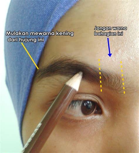 tutorial makeup kening cara mudah bentuk kening tanpa cukur terbaek network