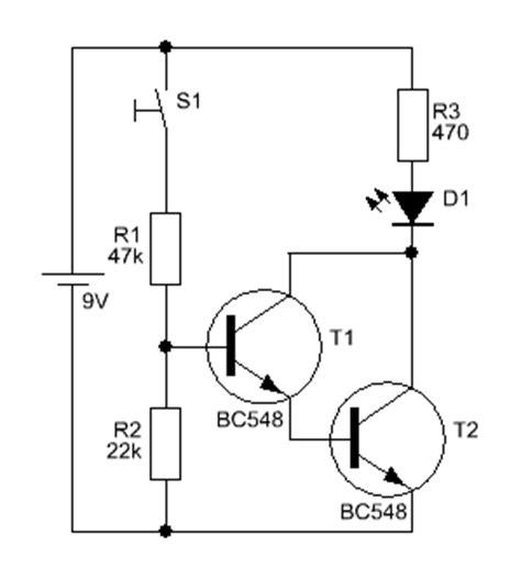 darlington transistor als schalter darlington schaltung transistor mikrocontroller net