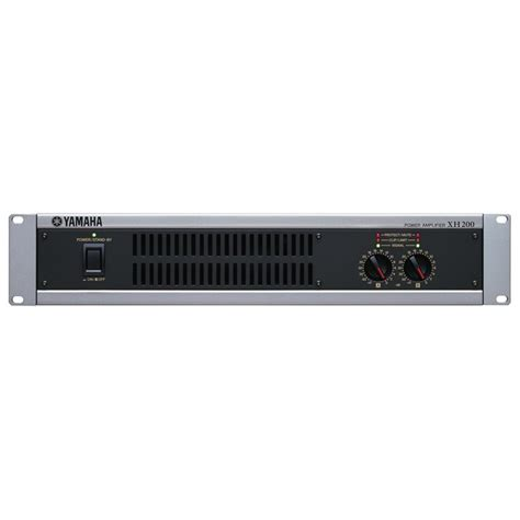 xh overview power amplifiers professional audio